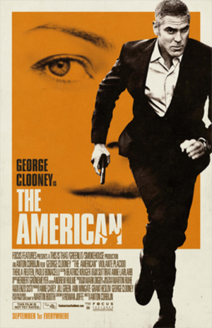 The American (2010 film) - Theatrical release poster