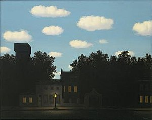 René Magritte - The Empire of Light, c. 1950–1954, Museum of Modern Art