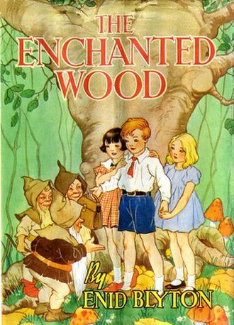 The Enchanted Wood (novel) - First edition cover