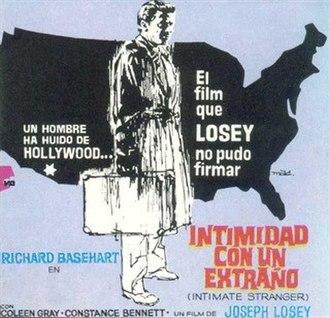 The Intimate Stranger (1956 film) - Spanish poster (1969)