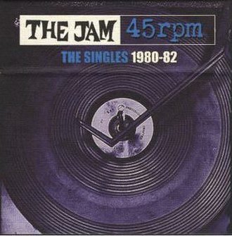 45 rpm: The Singles, 1980–1982 - Image: The Jam 45s 1980 1982