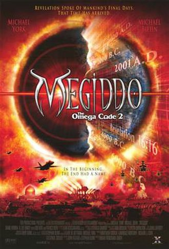 Megiddo: The Omega Code 2 - Theatrical release poster