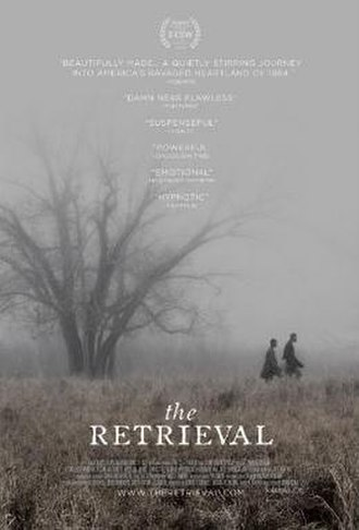 The Retrieval - Theatrical release poster