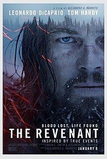 <i>The Revenant</i> (2015 film) 2015 film by Alejandro González Iñárritu