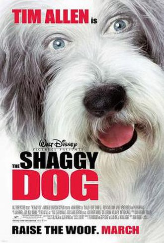 The Shaggy Dog (2006 film) - Theatrical release poster