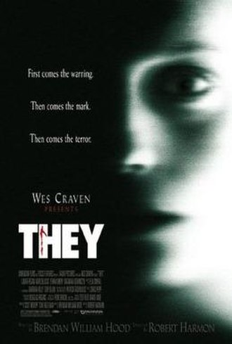They (2002 film) - Theatrical release poster