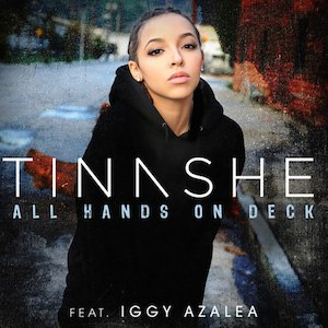 All Hands on Deck (Tinashe song) - Image: Tinashe Iggy All Hands