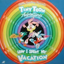 tiny toon adventures  how i spent my vacation   wikipediahow i spent my vacation  three young animals—a green duck  a pink rabbit and a blue rabbit—