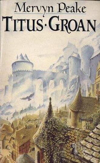 Gormenghast (castle) - Mark Robertson's cover illustration for the Mandarin paperback edition