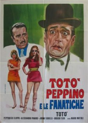 Toto, Peppino and the Fanatics - Film poster