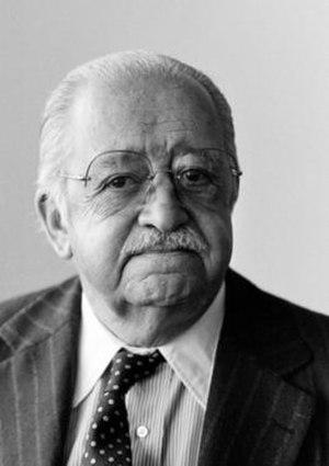 Carlos Sanz de Santamaría - Official UN Portrait of Carlos Sanz de Santamaría