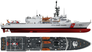 Heritage-class cutter - Image: USCG Heritage class CGI