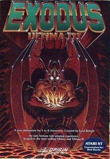 <i>Ultima III: Exodus</i> 1983 video game