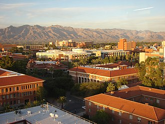 University of Arizona - Student Union, Old Main, and Forbes building