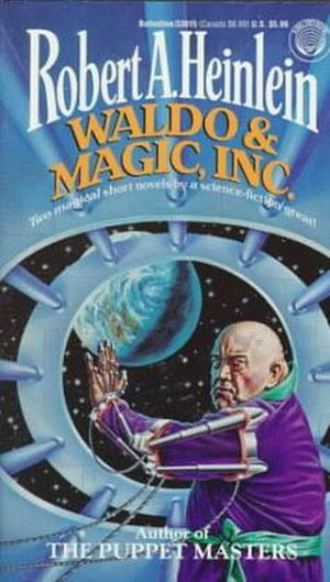 Magic, Inc. - 1994 Del Rey paperback cover.