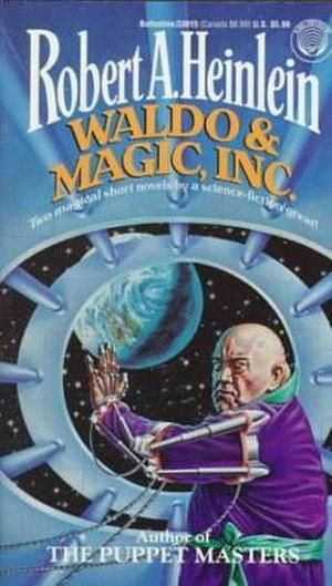 Magic, Inc. - 1994 Del Rey paperback cover.