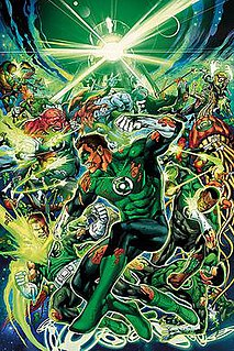 <i>War of the Green Lanterns</i> comic book