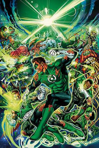 War of the Green Lanterns - Image: War of the Green Lanterns cover art