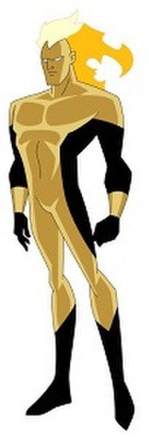 Waverider (comics) - Waverider as he appears in Justice League Unlimited