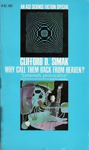 Why Call Them Back from Heaven? - Ace SF Special cover