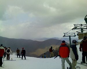 Wintergreen Resort - Top of the Highlands in January 2006, Wintergreen Resort