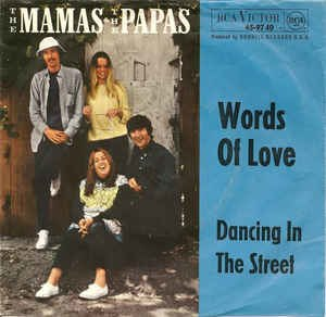 Words of Love (The Mamas & the Papas song) - Image: Words of Love Mamas & Papas