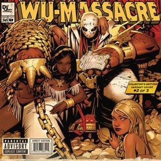 Wu-Massacre - Image: Wu Massacre Ghost Cover