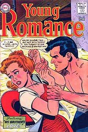 Young Romance - Image: Young Romance Issue 125 (DC)