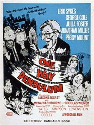 One Way Pendulum (film) - Campaign book cover
