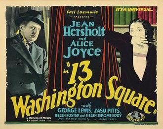 13 Washington Square - Image: 13 Washington Square