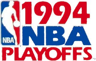 1994 NBA playoffs Postseason tournament of the National Basketball Association