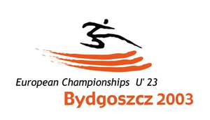 2003 European Athletics U23 Championships - Image: 2003 European Athletics U23 Championships logo
