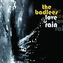 Love Is Rain album cover.