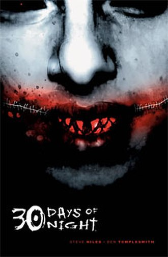 30 Days of Night - Cover to 30 Days of Night trade paperback (art by Ben Templesmith)