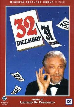 32 dicembre - Image: 32 dicembre