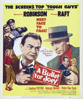 <i>A Bullet for Joey</i> 1955 film by Lewis Allen