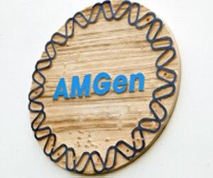 Amgen - AMGen corporate logo, 1983