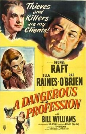A Dangerous Profession - Theatrical release poster