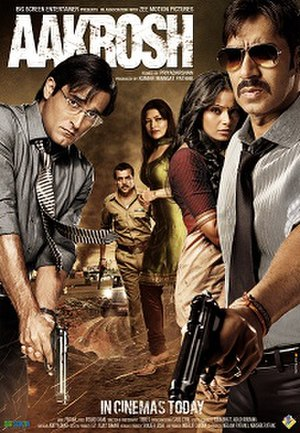 Aakrosh (2010 film) - Theatrical release poster