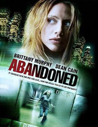 Abandoned (2010 film) - Official theatrical poster