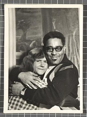Gertrude Abercrombie - Dizzy Gillespie with Abercrombie on his birthday, 1964