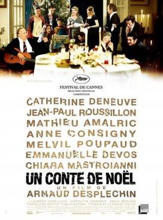 A Christmas Tale - Theatrical release poster