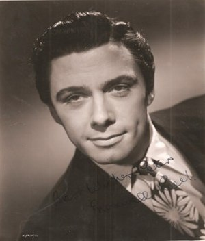 Maxwell Reed - Autographed publicity still