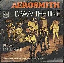 Draw the line 1977 aerosmith draw the line short news poster
