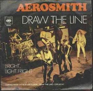 Draw the Line (song) - Image: Aerosmith Drawthe Linesong