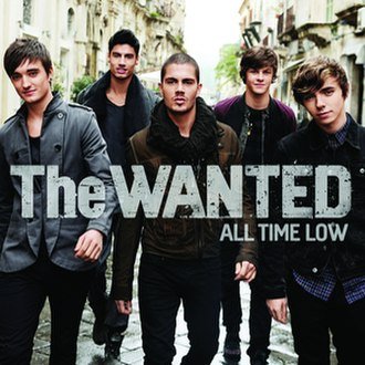 All Time Low (The Wanted song) - Image: All Time Low Single Cover