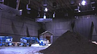 All Hell Breaks Loose (Supernatural) - The second episode's cemetery scene had to be filmed on a sound stage because of weather problems.
