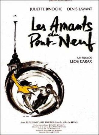 Les Amants du Pont-Neuf - Film Poster, ©Gaumont 1991