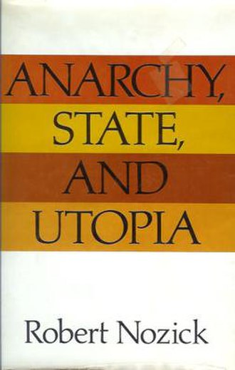 Anarchy, State, and Utopia - Cover of the first edition