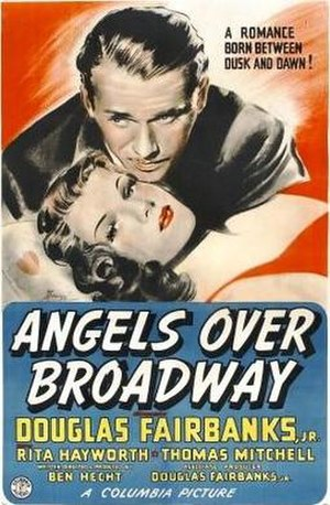 Angels Over Broadway - Theatrical release poster